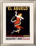 El Abuelo, Vino Rancio de Aragon Framed Giclee Print by Leonetto Cappiello