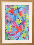 Tropical Plumage Prints by Linda Fay Powell