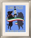 Cane Pazzo Limited Edition Framed Print by Ken Bailey