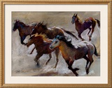 Catching the Wind Framed Giclee Print by Dawn Emerson