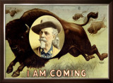 Buffalo Bill's Wild West, I Am Coming Framed Giclee Print