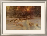 The Shortening Winter's Day Prints by Joseph Farquharson