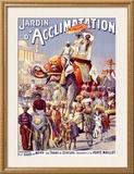 Jardin d'Acclimation Framed Giclee Print