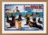 Captain Buffalo Bill Framed Giclee Print
