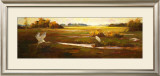 Wings over the Marsh Print by Li Wang