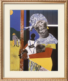 Come Sunday Art by Romare Bearden