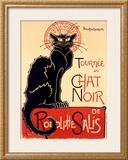Tournée du Chat Noir, c.1896 Framed Giclee Print by Théophile Alexandre Steinlen