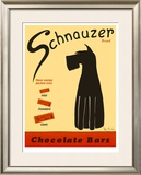 Schnauzer Bars Limited Edition Framed Print by Ken Bailey