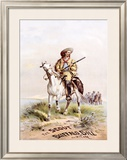 Buffalo Bill's Wild West, The Scout Framed Giclee Print by Paul Frenzeny
