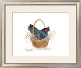 Chicken in a Basket Prints by Robert A. Fleming