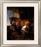 Shoeing Prints by Edwin Henry Landseer