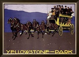 Yellowstone Park Framed Giclee Print by Ludwig Hohlwein