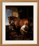 Shoeing Posters by Edwin Henry Landseer