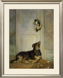 Dog in Mourning, c.1870 Prints by Henry Bacon