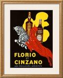 Florio et Cinzano Apertifs Framed Giclee Print by Leonetto Cappiello
