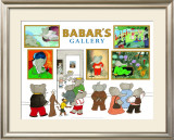 Babar&#39;s Gallery Art by Laurent de Brunhoff