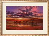 African Sunset Prints by Jonathan Sanders