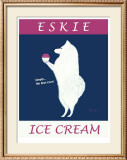 Eskie Ice Cream Limited Edition Framed Print by Ken Bailey
