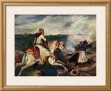 Sce`ne de la Guerre En Gre`ce Posters by Eugene Delacroix