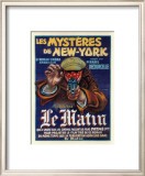 Les Mysteres de New York Prints