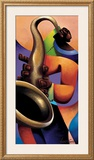 Mo' Sax Prints by Maurice Evans