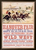 Hanover Fair Horse Race Framed Giclee Print