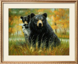 Mother and Cub Prints by H. Kendrick