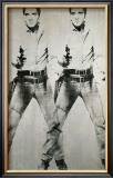 Double Elvis, c.1963 Poster by Andy Warhol