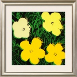 Flowers, c.1970 (Yellow) Poster by Andy Warhol
