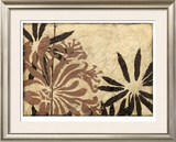 Tawny Floral II Limited Edition Framed Print by Jennifer Goldberger
