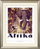 Afrika Framed Giclee Print by Otto Baumberger