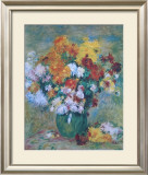 Bouquet of Chrysanthemums Prints by Pierre-Auguste Renoir