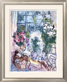 The White Window Prints by Marc Chagall