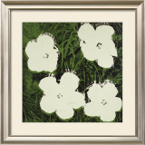 Flowers, c.1964 (White) Posters by Andy Warhol