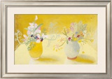 Honeysuckle & Sweetpeas Posters by Winifred Nicholson