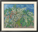 Blossoming Chestnut Branches, c.1890 Posters by Vincent van Gogh