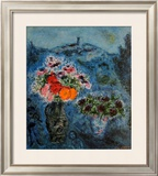 Bunch of Violets Posters by Marc Chagall