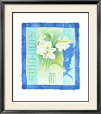 Lilies Prints by Franz Heigl