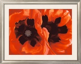 Oriental Poppies, c.1928 Prints by Georgia O'Keeffe