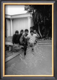 The Beatles on Diving Board Print