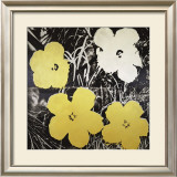 Flowers, c.1966 (Yellow and White) Prints by Andy Warhol
