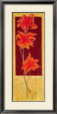 Flowers in Red II Prints by R. Lange