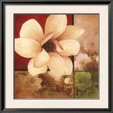 Magnolia Collage Prints by T. C. Chiu