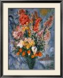 Bouquet de Fleurs Art by Marc Chagall