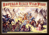 Buffalo Bill's Wild West, Wild West Framed Giclee Print