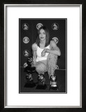 Madonna Posing with Awards Prints