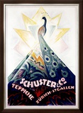 Schuster and Company Framed Giclee Print by Carl Bockli