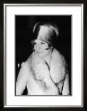 Barbara in Hat Poster