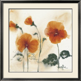 Pansies I Poster by  Marthe