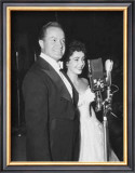 Bob Hope and Elizabeth Taylor Poster